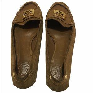 Tory Burch Mocasines Suede Shoes size 8.5
